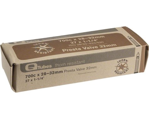 Q-Tubes 700c Thorn Resistant Inner Tube (Presta) (28 - 32mm) (32mm)