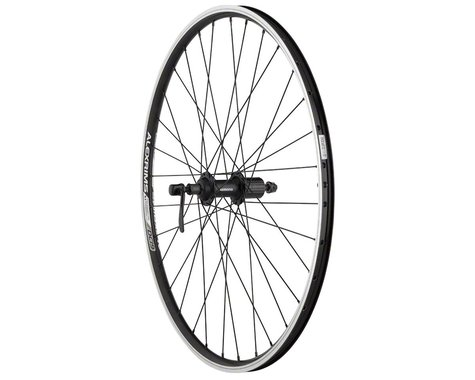Quality Wheels Value Rim Brake Rear Wheel (Black) (QR x 135mm)