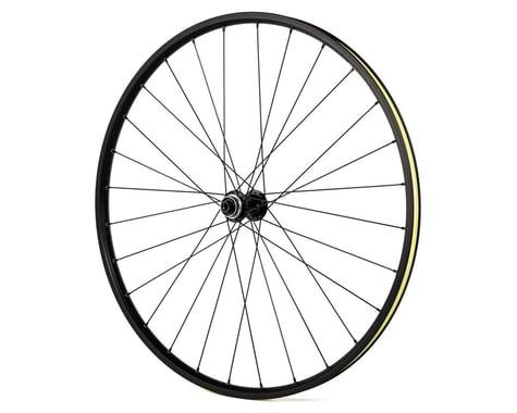 Quality Wheels Double Wall Disc/Rim Brake Front Wheel (Black) (700c)