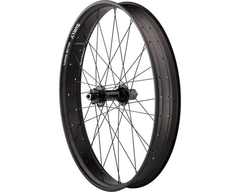 "Quality Wheels Legacy Fat Rear Wheel - 26"", QR x 170mm, 6-Bolt, HG 10, Black, Cl"