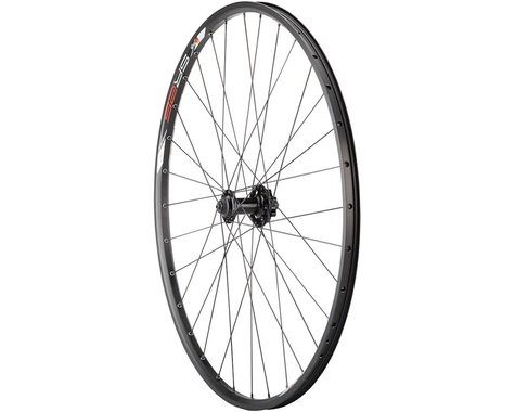 "Quality Wheels Value Series Disc Front Wheel 29"" 6-bolt / Sun SR25 Black"