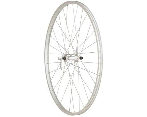 Quality Wheels Value Series Silver Pavement Front Wheel 700c Formula / Alex Y200