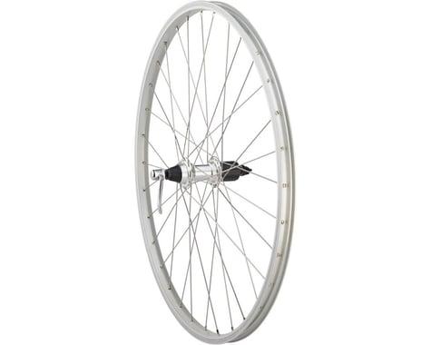 "Quality Wheels Value Series Silver Mountain Rear Wheel 26"" Formula 135mm Freehub"