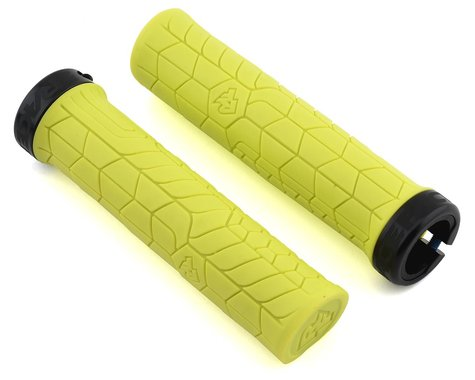 Race Face Getta Grips (Lock-On) (Yellow/Black) (30mm)