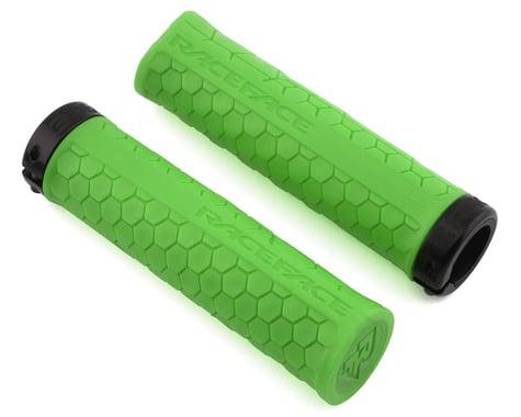 Race Face Getta Grips (Lock-On) (Green/Black) (33mm)