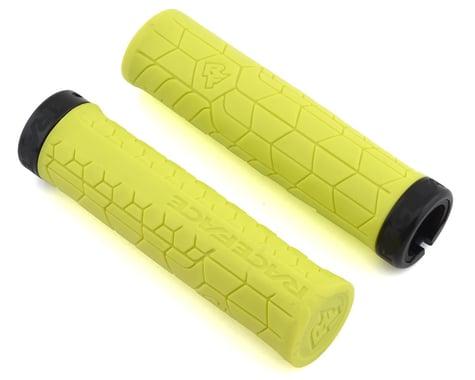 Race Face Getta Grips (Lock-On) (Yellow/Black) (33mm)