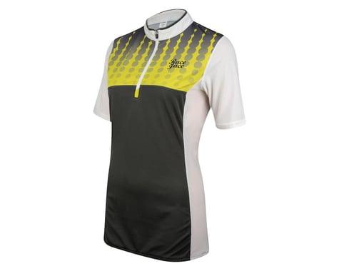 Race Face Women's DIY Short Sleeve Jersey (Grey/Yellow)