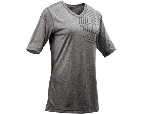 Race Face Charlie Women's Short Sleeve Jersey (Slate)