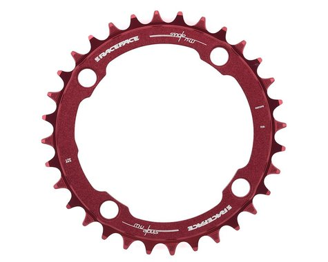Race Face Narrow-Wide Chainring (Red) (104mm BCD) (32T)