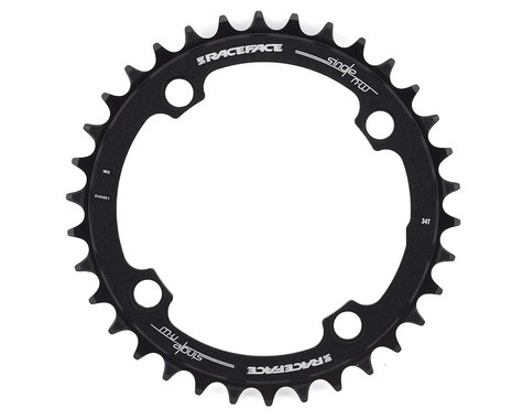 Race Face Narrow-Wide Chainring (Black) (104mm BCD) (34T)