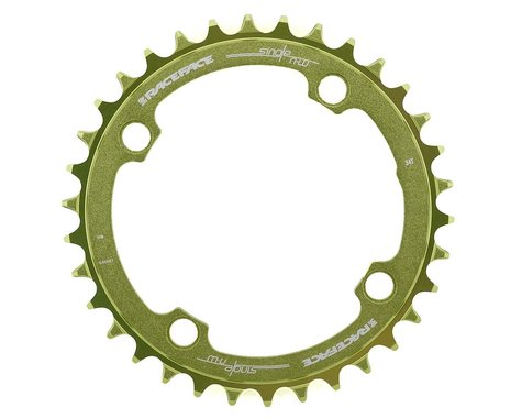Race Face Narrow-Wide Chainring (Green) (104mm BCD) (34T)