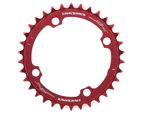 Race Face Narrow-Wide Chainring (Red) (104mm BCD) (Offset N/A) (34T)