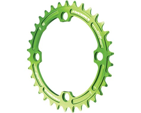 Race Face Narrow-Wide Chainring (Green) (104mm BCD) (38T)