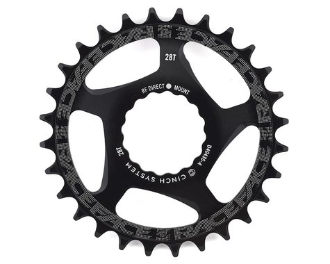 Race Face Narrow-Wide Direct Mount Cinch Chainring (Black) (3mm Offset (Boost)) (28T)