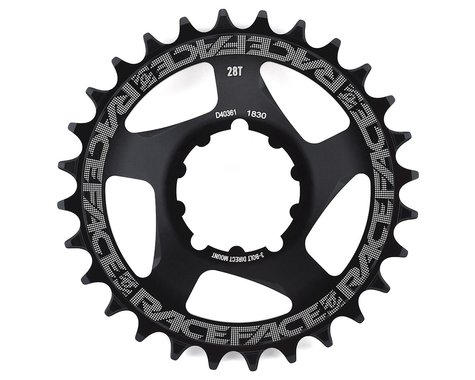 Race Face Narrow Wide 3-Bolt Direct Mount Chainring (Black) (3mm Offset (Boost)) (28T)