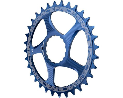 Race Face Narrow-Wide Direct Mount Cinch Chainring (Blue) (28T)