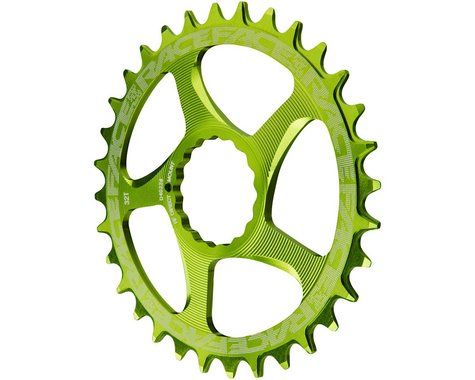 Race Face Narrow-Wide Chainring (Green) (CINCH Direct Mount) (3mm Offset (Boost)) (28T)