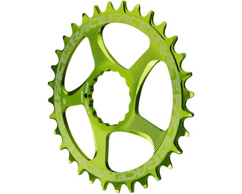 Race Face Narrow-Wide Chainring (Green) (CINCH Direct Mount) (30T)