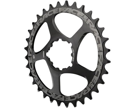 Race Face Narrow Wide GXP Direct Mount Chainring (Black) (3mm Offset (Boost)) (32T)