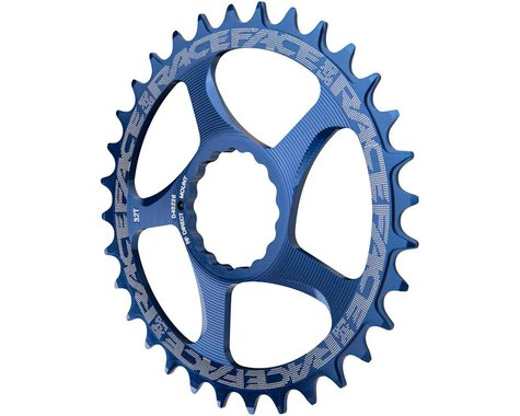 Race Face Narrow-Wide Direct Mount Cinch Chainring (Blue) (32T)