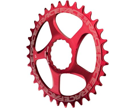 Race Face Narrow-Wide Direct Mount Cinch Chainring (Red) (34T)