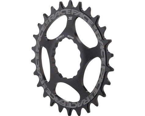 Race Face Narrow Wide 3-Bolt Direct Mount Chainring (Black) (38T)