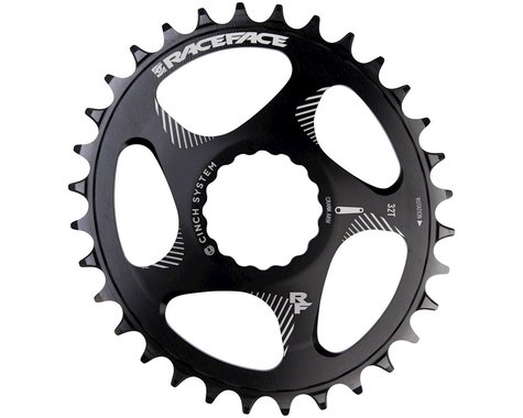 Race Face Narrow Wide Oval Direct Mount Cinch Chainring (Black) (3mm Offset (Boost)) (28T)