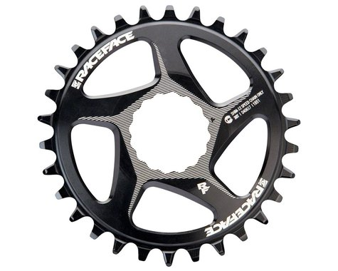 Race Face Narrow Wide Direct Mount CINCH Chainring (Black) (12sp Shimano) (3mm Offset (Boost)) (30T)