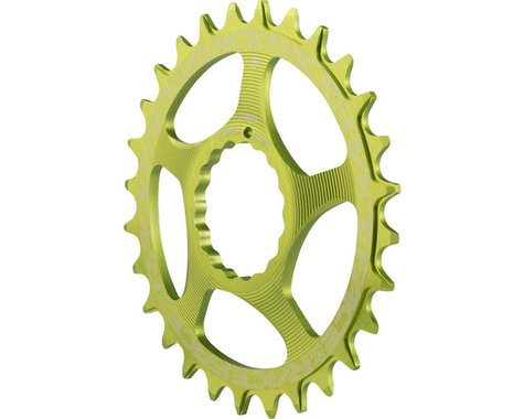 Race Face Direct Mount Cinch Narrow-Wide Chain Ring (Green) (3mm Offset (Boost)) (28T)