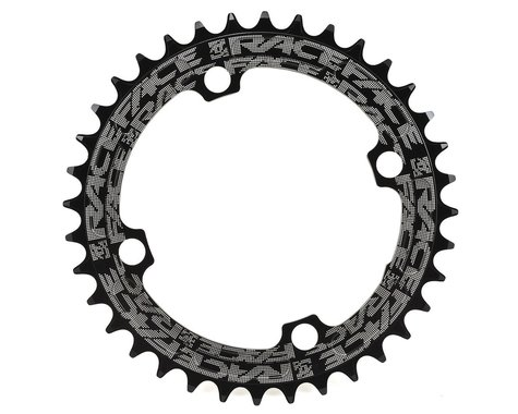 Race Face Narrow-Wide Single Chain Ring (104 BCD) (Black) (Offset N/A) (36T)