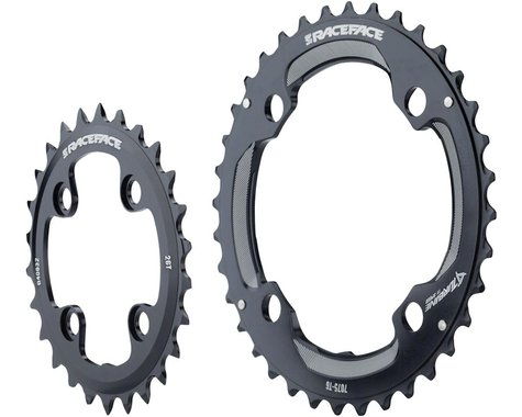 Race Face Turbine 11 Speed Chainring Set (Black) (64mm x 104mm BCD) (24/34T)