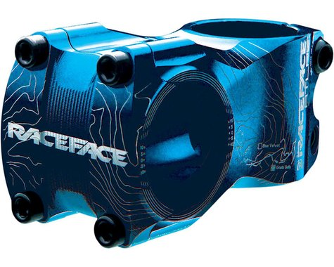 Race Face Atlas Stem (Blue) (31.8mm) (50mm) (0°)