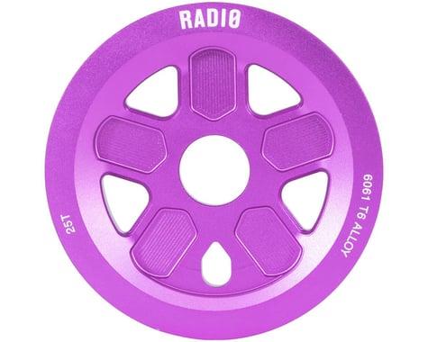 Radio 47 Leon Hoppe Signature Guard Sprocket 25T 24mm/22mm/19mm Sandblasted Purp