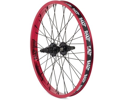 "Rant Party On V2 Cassette Wheel (Red) (20 x 1.75"")"