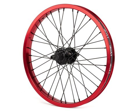 "Rant Party On V2 18"" Cassette Wheel (Red) (18 x 1.75)"