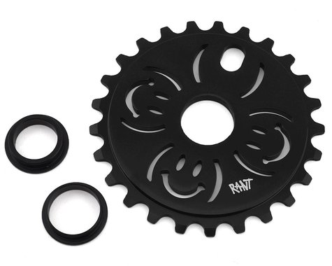 Rant H.A.B.D. Sprocket (Black) (25T)