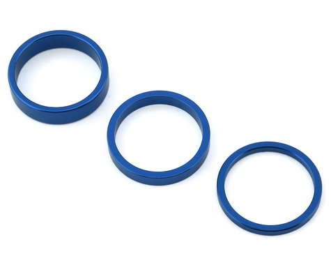 "Rant Stack Em Headset Spacer Kit (Blue) (1-1/8"")"