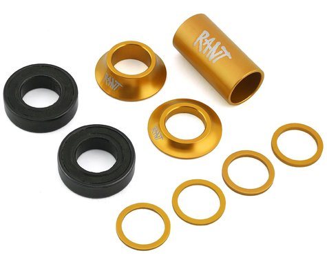 Rant Bang Ur Mid Bottom Bracket Kit (Matte Gold) (19mm)