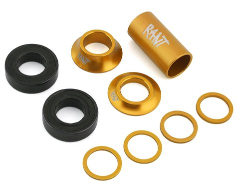 Rant Bang Ur Mid Bottom Bracket Kit (Matte Gold) (22mm)