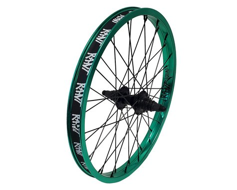 """Rant Party On V2 Cassette Rear Wheel (Real Teal) (20 x 1.75"""")"""