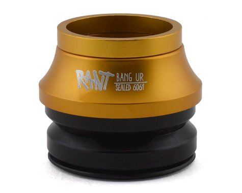 "Rant Bang Ur Integrated Headset (Matte Gold) (1-1/8"")"