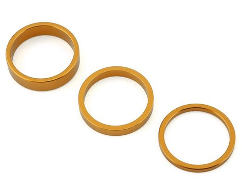 "Rant Stack Em Headset Spacer Kit (Matte Gold) (1-1/8"")"