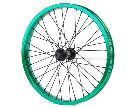 "Rant Party On V2 18"" Front Wheel (Real Teal) (18 x 1.75"")"