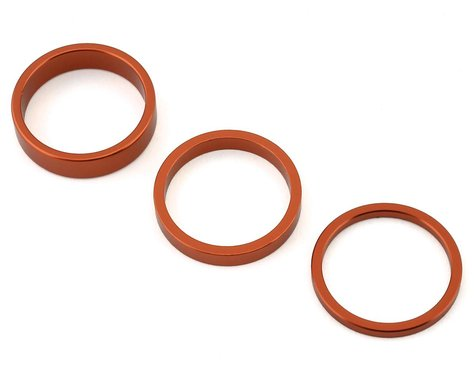 "Rant Stack Em Headset Spacer Kit (Orange) (1-1/8"")"