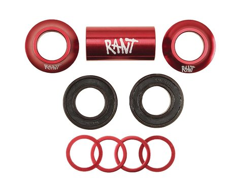 Rant Bang Ur Mid Bottom Bracket Kit (Red) (22mm)