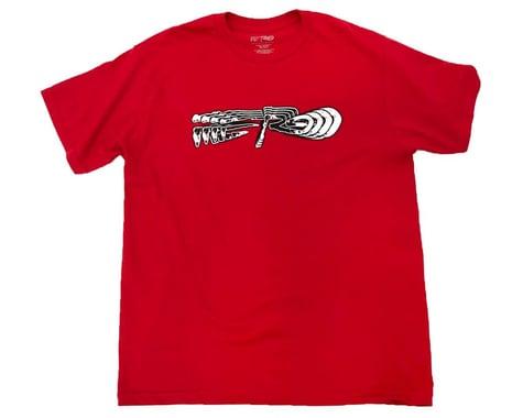 Redline X Ferg Short Sleeve T-Shirt (Red) (M)