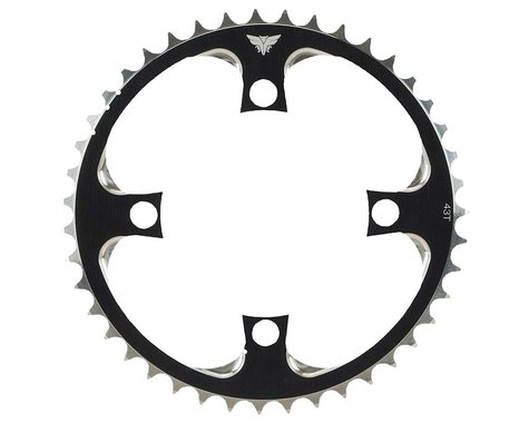 Redline Flight 4-bolt Chainring (Silver)