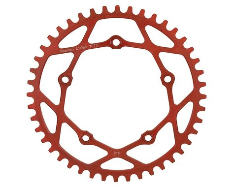 RENNEN BMX Pentacle Chainring (Red) (44T)