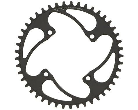 RENNEN BMX Threaded 4-Bolt Chainring (Black) (38T)