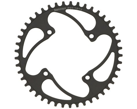 RENNEN BMX Threaded 4-Bolt Chainring (Black) (39T)